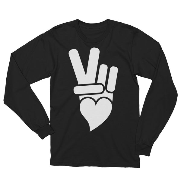 Peace + Love Icon Long Sleeve T-Shirt