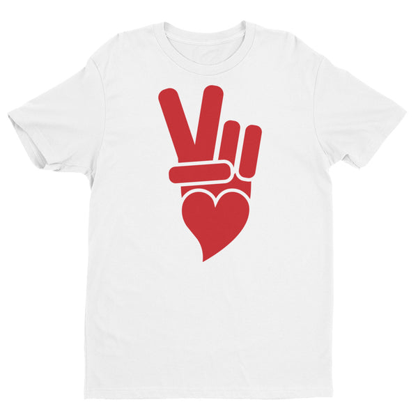 Peace + Love Icon Short Sleeve T-shirt