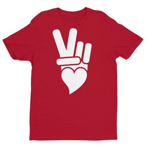 Classic Peace + Love™ brand icon with white printed icon.