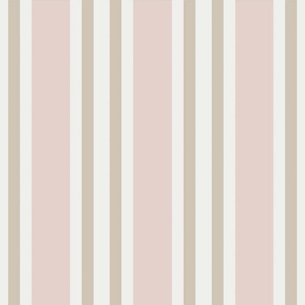 Polo Stripe - Soft Pink
