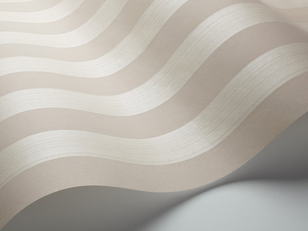 Regatta Stripes - Stone and Parchment