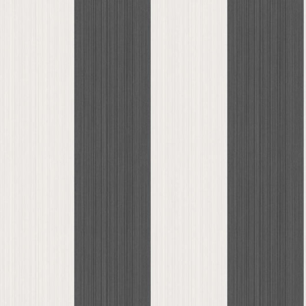Jaspe Stripe - Black and White