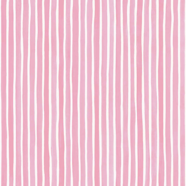 Croquet Stripe - Soft Pink
