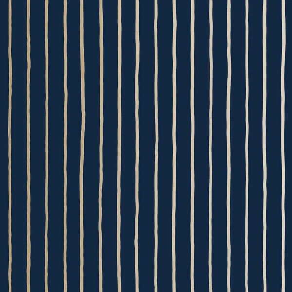 College Stripe - Ink - Wallpaper Trader