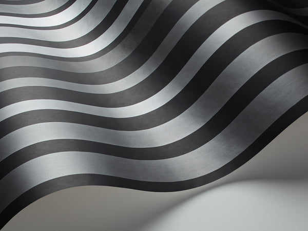 Carousel Stripe - Steel Grey