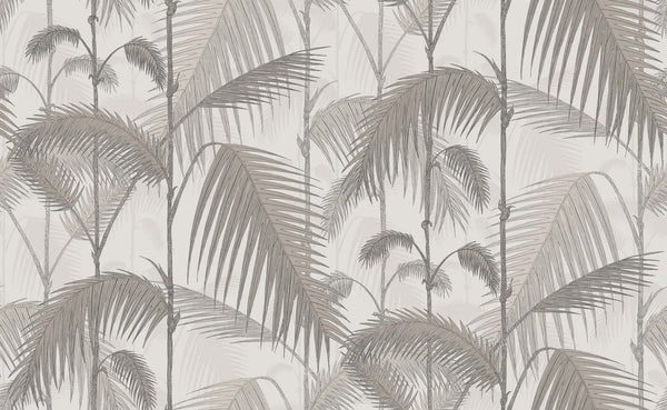 Palm Jungle - Stone and Taupe
