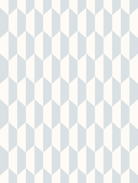 Petite Tile - Pale Blue - Wallpaper Trader