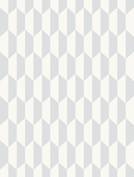 Petite Tile - Soft Grey - Wallpaper Trader