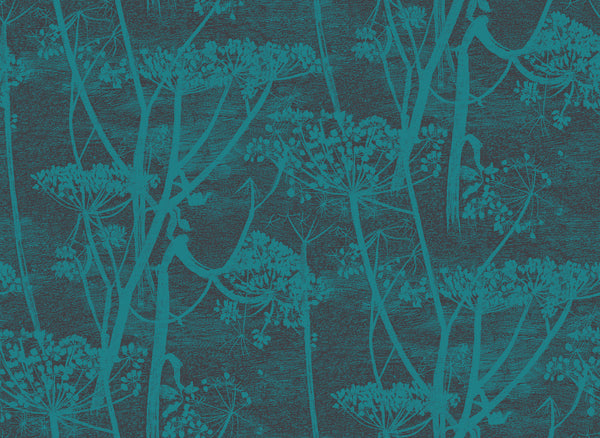Cow Parsley - Teal