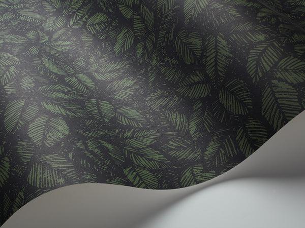 Amorina Forest Leaves - Dark Green