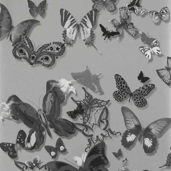 Butterfly Parade - Grey
