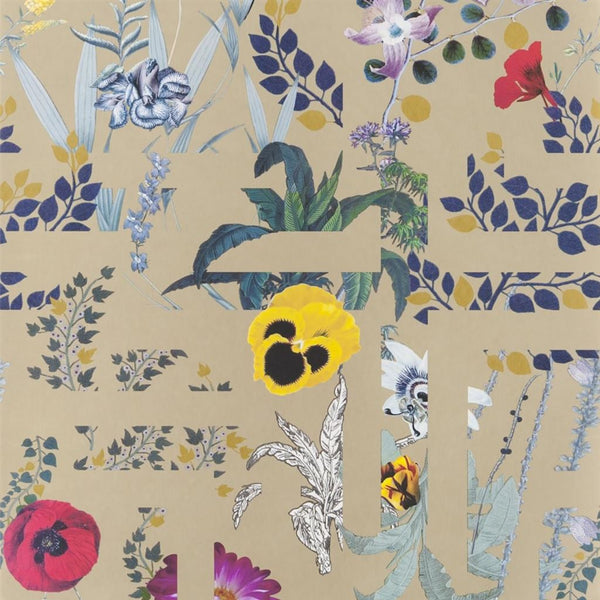 Christian Lacroix Histories Naturelles Primavera Labyrinthum Or Wallpaper
