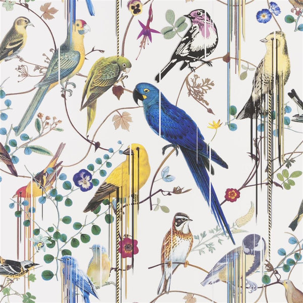 Christian Lacroix Histories Naturelles Birds Sinfonia Perce neige Wallpaper