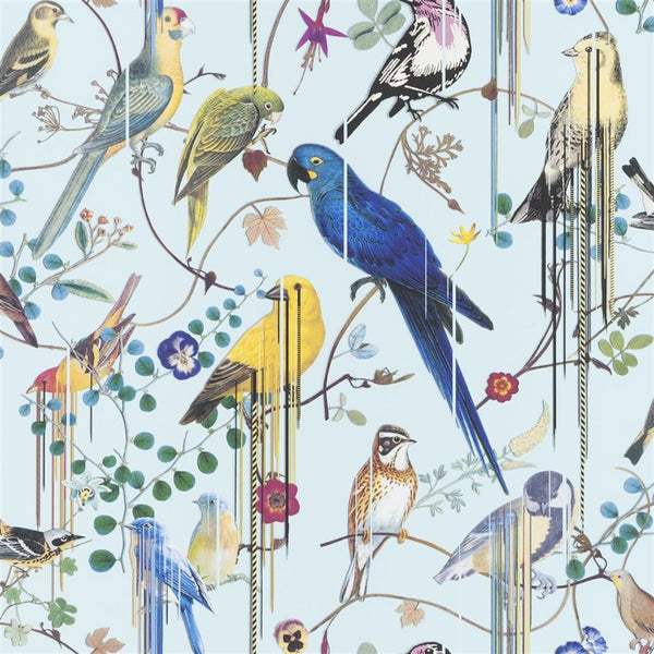 Christian Lacroix Histories Naturelles Birds Sinfonia Source Wallpaper