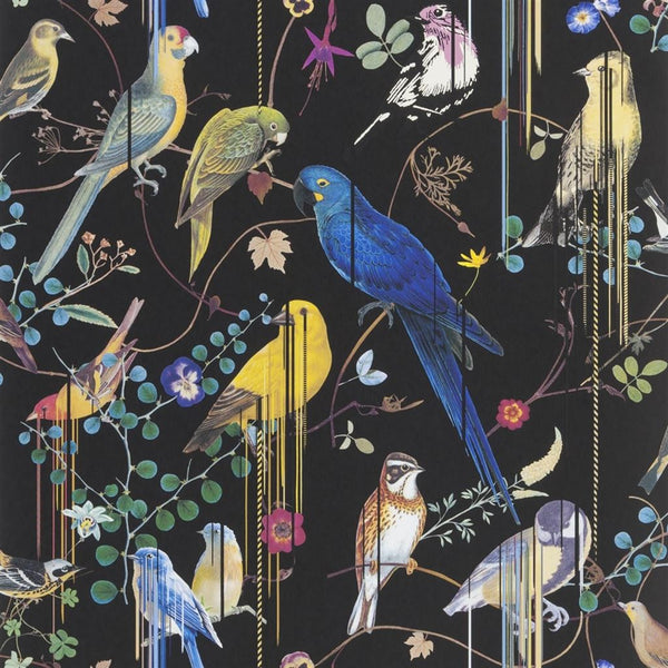 Christian Lacroix Histories Naturelles Birds Sinfonia Crepuscule Wallpaper
