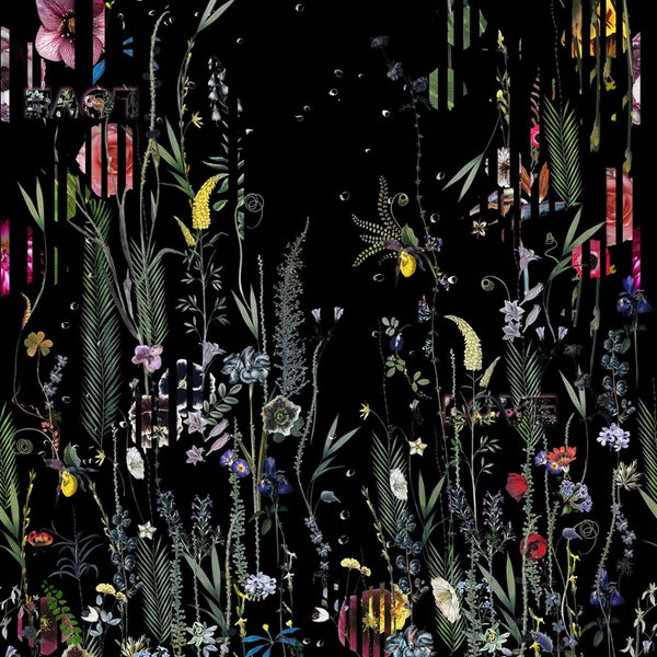 Christian Lacroix Histories Naturelles Babylonia Nights Panoramic Crepuscule Wallpaper