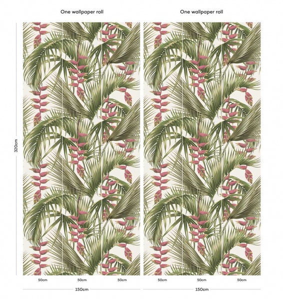 Aloha Vintage Tropical Palm
