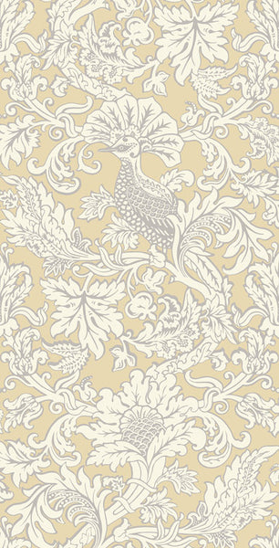 Balabina - Vintage Yellow - Wallpaper Trader