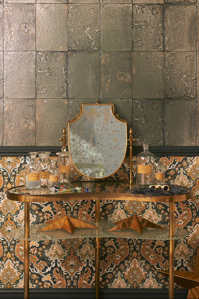 Antique Mirror - Silver