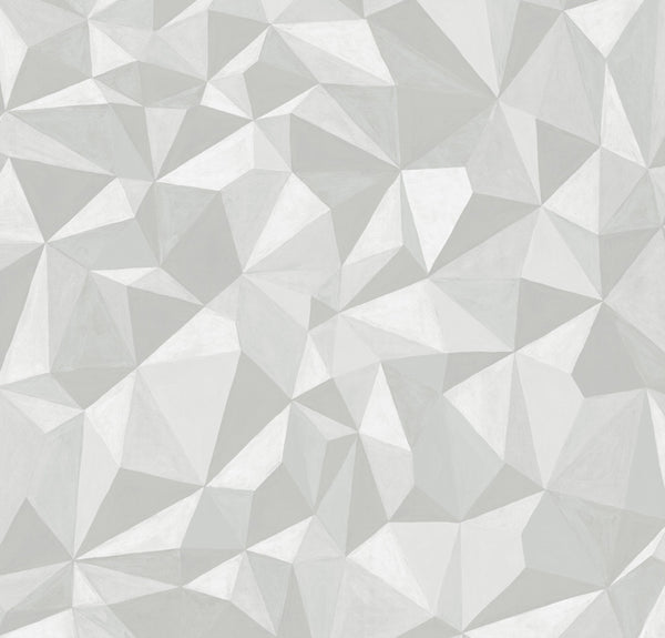 Quartz - White - Wallpaper Trader