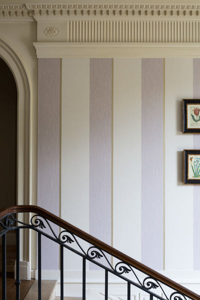 Marly Stripe - Pale Blue - Wallpaper Trader