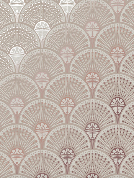 Deco Martini - Rose Gold - Wallpaper Trader