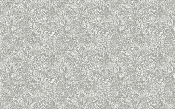 Jungle - Light Grey - Wallpaper Trader