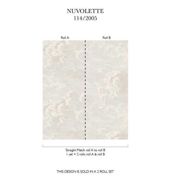 Nuvolette Clouds - Metallic Pearl