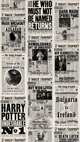 Daily Prophet Newspaper - Wallpaper Trader