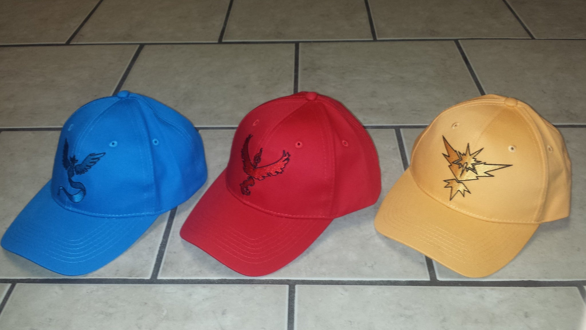 Mystic, Valor, Instinct Team Hats