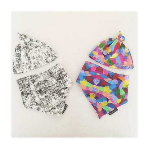 Beanie and Bib Sets