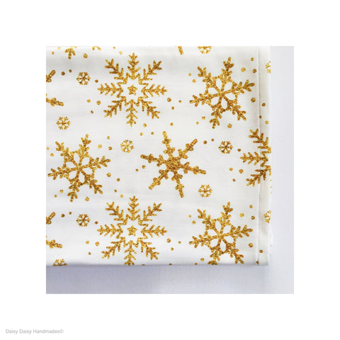 Christmas Snow Flake Organic Baby Wrap