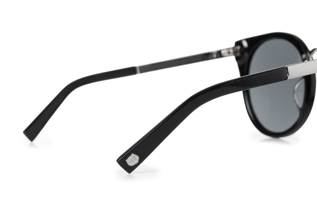CATXMAN MIRROR EFFECT SUNGLASSES - BLACK