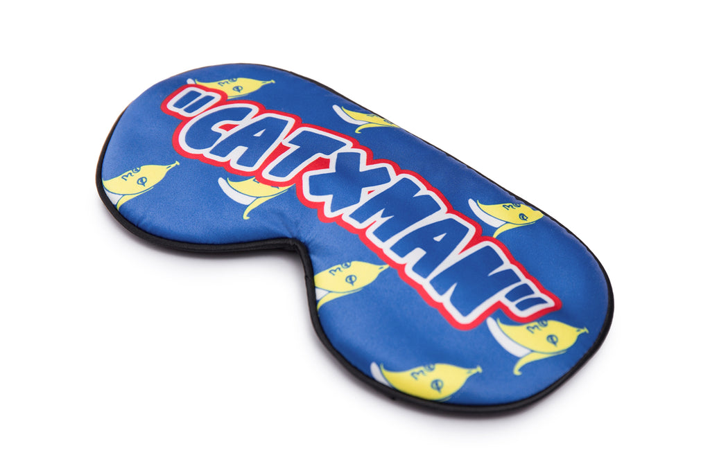 CATXMAN BANANA EYE MASK (WITH GEL PAD)