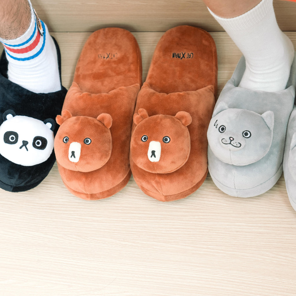 'CATXMAN TEAM FURRY SLIPPER - BEARBIE