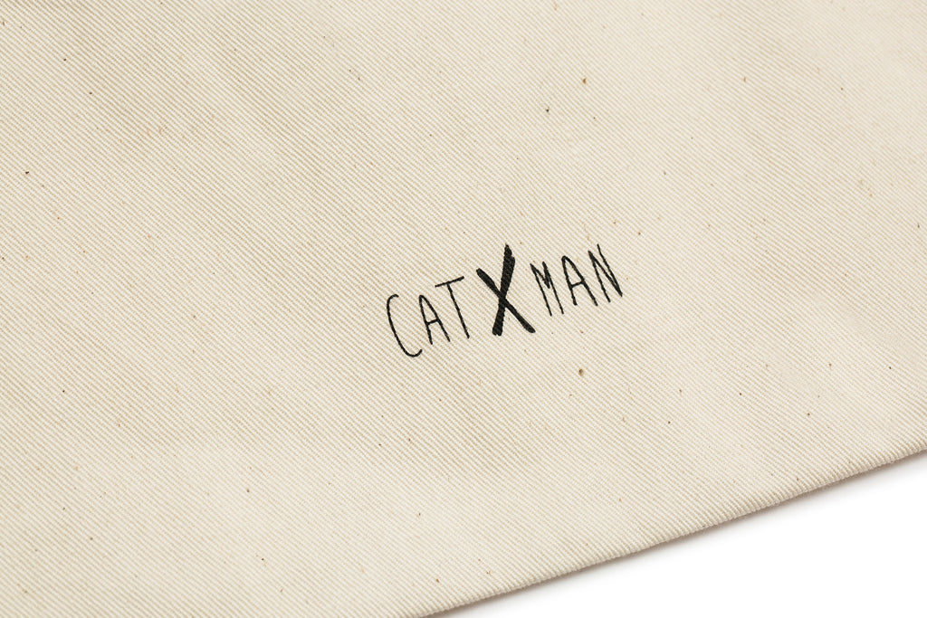 CATXMAN FACE TOTE BAG