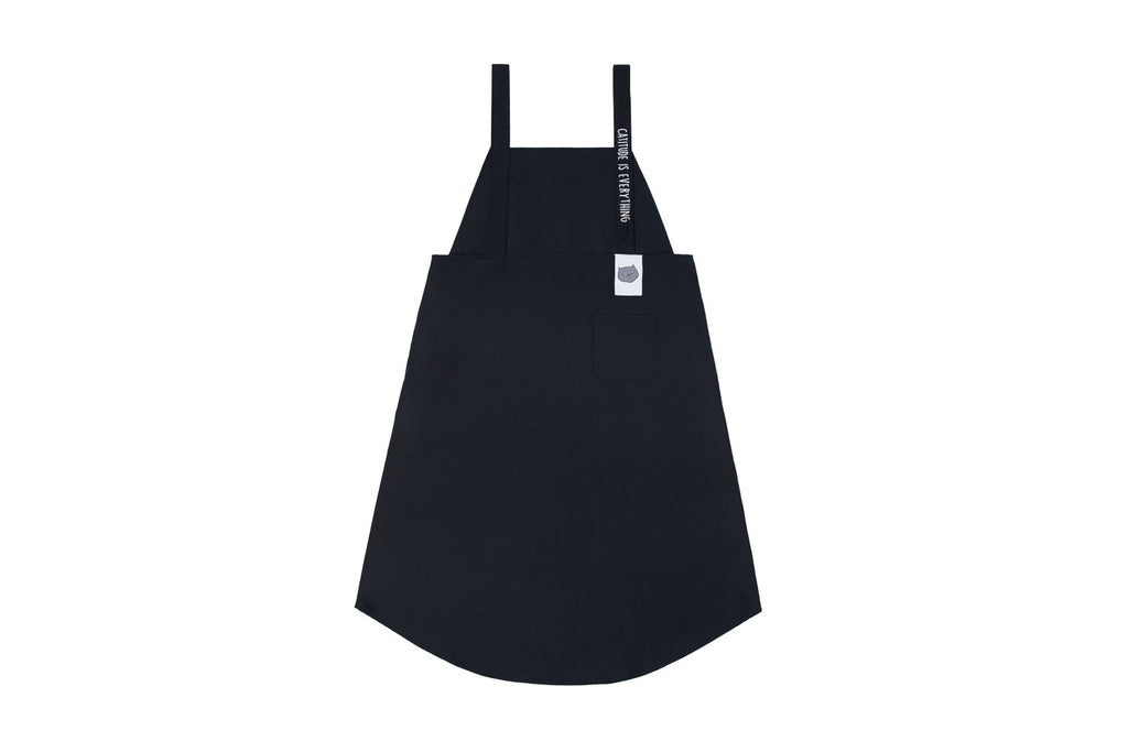 'CATXMAN DRESS IN APRON STYLE