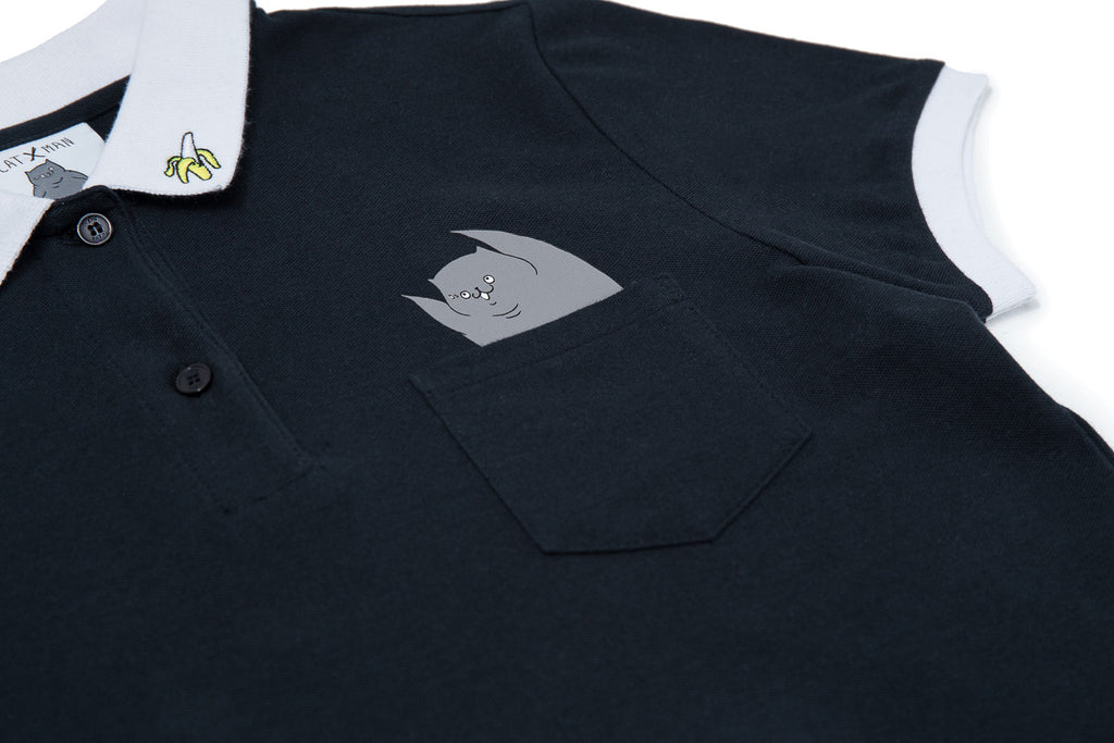 CATXMAN POLO DRESS