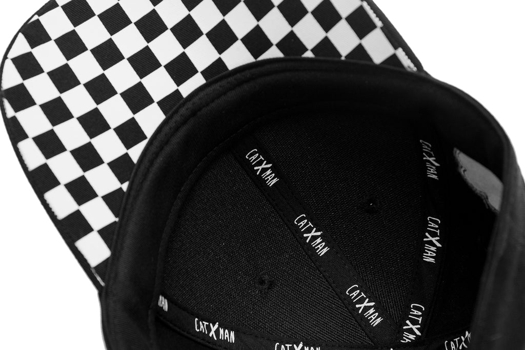CATXMAN HIDDEN CHECKS  DAD CAP