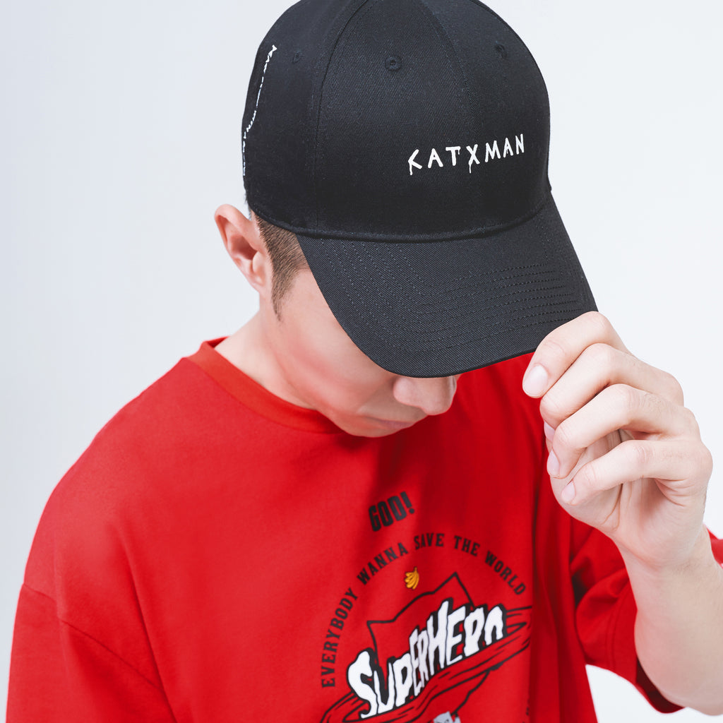 'CATXMAN HIDDEN CHECKS  DAD CAP