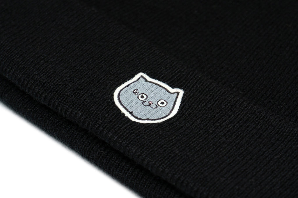 'CATXMAN EMBROIDERY FACE LOGO BEANNIE