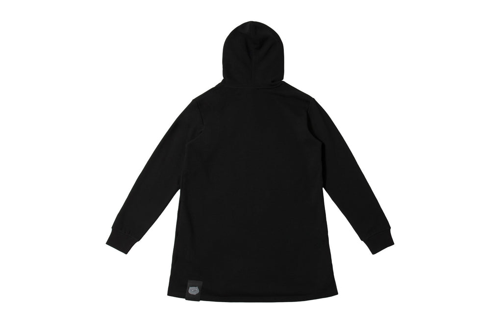 CATXMAN LOGO HODDIE DRESS