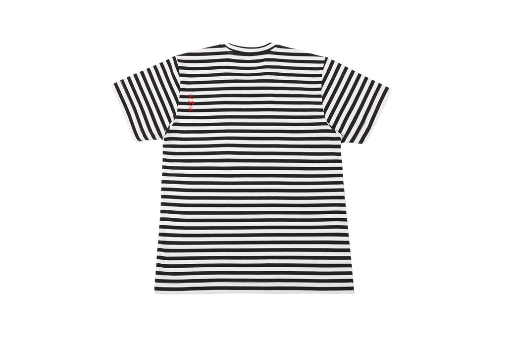 CATXMAN BASIC BLACK STRIPED TEE (UNISEX)