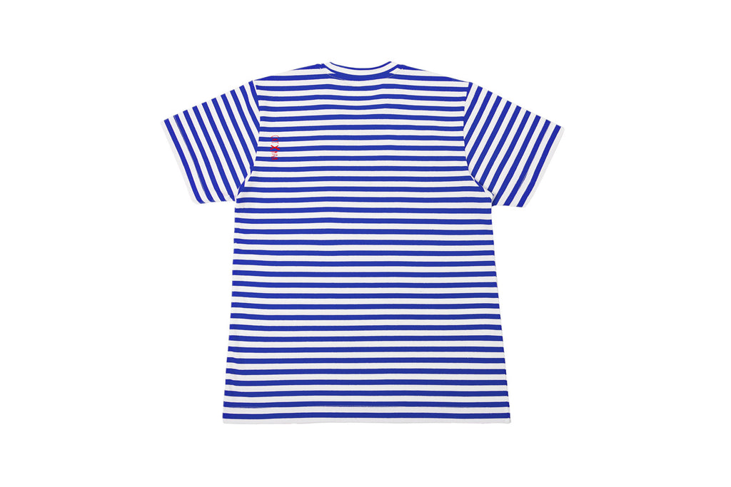 CATXMAN BASIC BLUE STRIPED TEE (UNISEX)