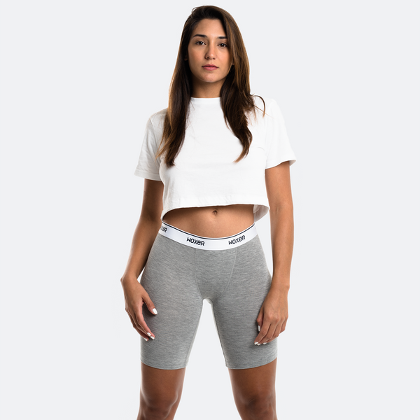 Biker Heather Grey