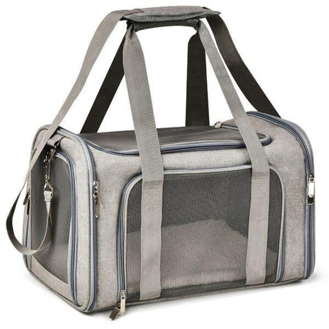 Sac Chat Transport Gris