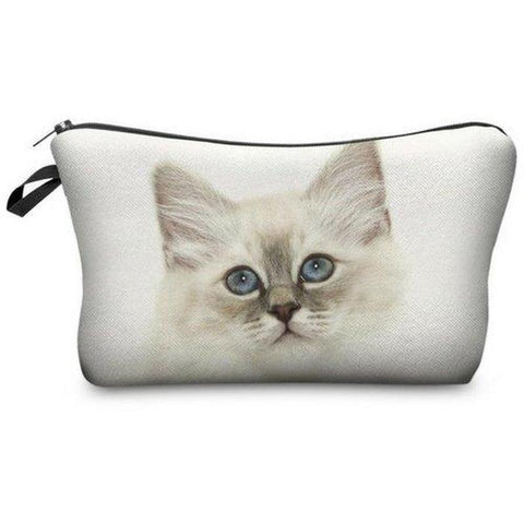 Trousse de Maquillage Chat Chaton