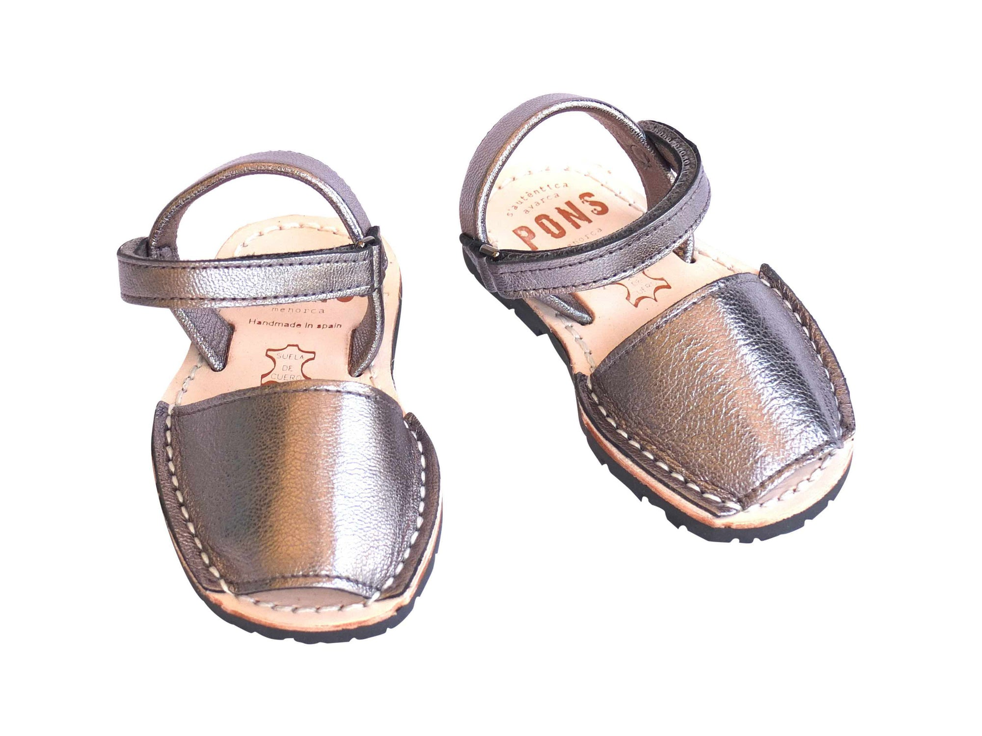 Toddler Metallic Pewter