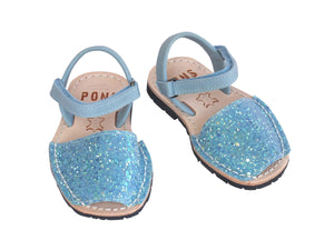 Toddler Sky Blue Glitter