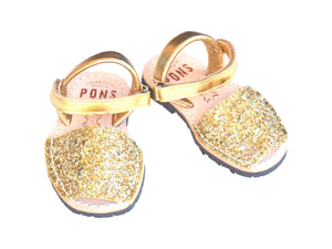 Toddler Gold Glitter